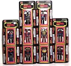 [All 10 Collectors Shoguns in packages]